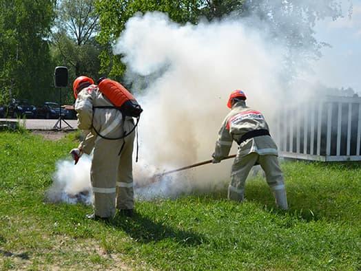 пожарные дружины